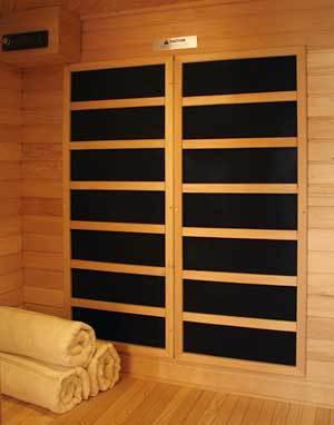 Klondike Ultra 4 Person Carbon Infrared Home Sauna