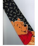 Winnie the Pooh Bear Disney Big WORD Cartoon Novelty Fancy Neck Tie - $9.99