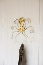 Antique White  Metal Coat/Hat Rack  Marine,Ocean,Sea Life. 31'' x 26''H. - $118.80