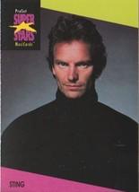 STING 1991 PRO SET MUSIC CARDS # 95 - $1.24