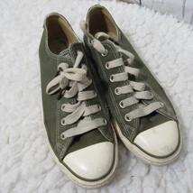 Converse Chuck Taylor Niedriges Top Sneaker Schuhe Herren 6 Damen 8 Grün - $60.42