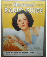 Movie and Radio Guide-June 1-7, 1940 -Hedy LaMarr - Hollywood MGM's Boom... - $14.95