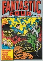 Fantastic Four Comic Book Magazine #7 Marvel UK 1982 FINE - $4.99