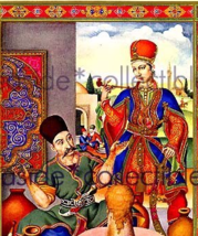 Arthur Szyk Illumination Portrait of EARTH'S FIRST CLAY Fine Art Print 1940 - $27.99