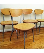 "Authentic ""Gazelle"" Chair by Shelby Williams  Set of Six, c.1950 *Free ... - $2,800.00"