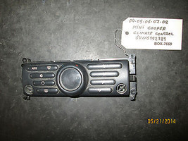 04 05 06 07 08 Mini Cooper Climate Control #64116952389 *See Item Description* - $79.18