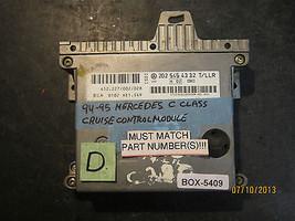 94 95 Mercedes C Class Cruise Control Module *See Item Description* - $58.41