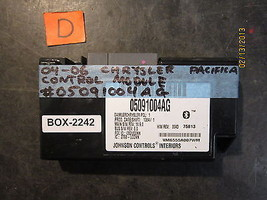 04 05 06 Chrysler Pacifica Control Module #05091004 Ag *See Item* (2242) - $292.05