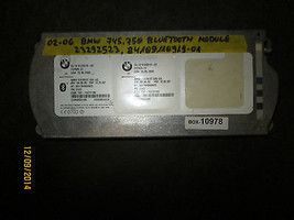 02 03 04 05 06 BMW 745,750 BLUE TOOTH MODULE #23292523/84109110919-01 BOX-10978 - $74.23