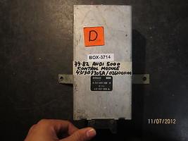 79 80 81 82 AUDI 5000 CONTROL MODULE #431907305A / 0261001100 BOX-3714 - $89.09