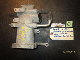98 99 00 01 02 FORD/MERCURY AIR INTAKE OEM #F6AE-9A589-BD *See item desc... - $44.55