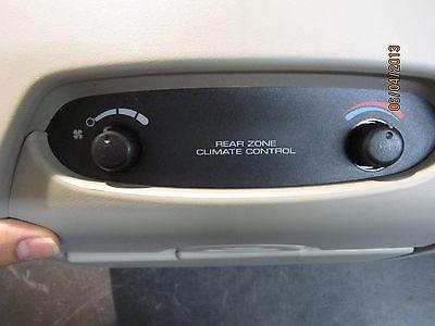 01 02 03 04 05 06 DODGE CARAVAN OVER HEAD REAR DISPLAY CLIMATE CONTROL TAN