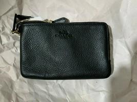 coach f66505 double zip small wristlet NWD - $29.69