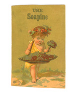 Victorian Trade Card Advertising Soapine Soap K... - $10.29