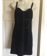 Women's Metro park Black Dress Sz Medium - $7.99