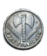 1  1943 Franc Aluminum - $1.50