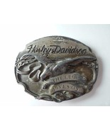 HARLEY DAVIDSON 1990 American Eagle THE LEGEND LIVES ON Belt Buckle - $24.45