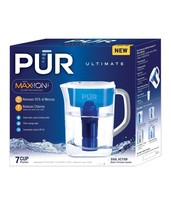 PUR 7 Cup Ultimate Pitcher with LED Indicator With Pitcher Filter New - $24.50