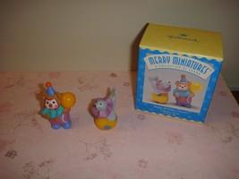 Hallmark 1996 Merry Miniatures Happy Birthday Clowns - $6.49