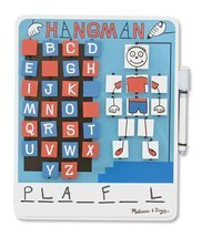 Flip to Win Wooden Travel Game Hangman - $12.03