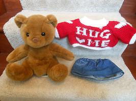 """BUILD A BEAR BABW TEDDY BEAR  10"""" PLUSH WITH DE... - $12.46"""