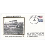 BROOKLYN DODGERS EBBETS FIELD DEMOLISHED GAME BROOKLYN NY OCT 4 1994 Z S... - ₹213.57 INR