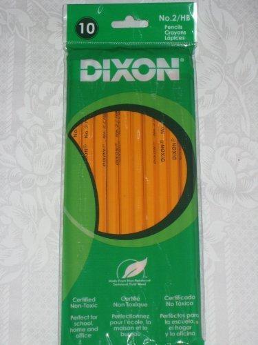 Dixon 10 Pk. #2 Pencils