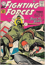 Our Fighting Forces Comic Book #61 Gunner and Sarge, DC Comics 1961 FINE-/FINE - $35.72