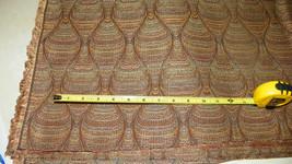 Brown Tan Abstract Print Upholstery Fabric 1 Yard  R229 - $35.95
