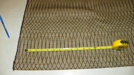Brown Tan Abstract Print Upholstery Fabric   1 Yard  R230 - $39.95