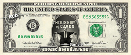HOUSE OF CARDS Kevin Spacey - Real Dollar Bill Cash Money Collectible Me... - $7.77