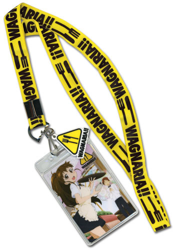 Primary image for Wagnaria!! Working Lanyard ID Holder GE37508 *NEW*