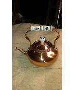 Vintage Copper Tea Kettle ! Only 129.95 ! - $129.95