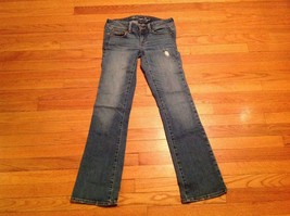 American Eagle Outfitters Casual Slim Boot Cut Jeans Women's Size 4R - $29.69