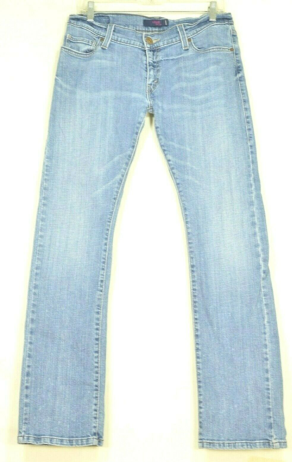 Primary image for Levi 504 jeans 9 x 32 tilted slouch straight leg stretch
