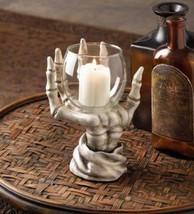 10017189 Dragon Crest Eerie Hand Candleholder - $14.98