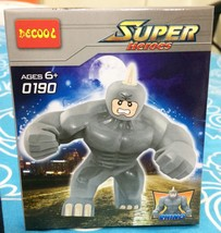Rhino Spiderman Toy Minifigure Marvel Villain Collection With Original Gift Box - $14.99