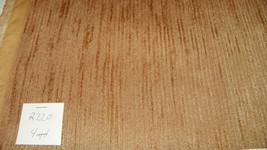 Dark Gold Stria Nylon Velvet Upholstery Fabric  1 Yard  R220 - $17.95