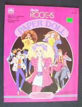 A Golden Book ~ Barbie Rockers Paper Doll ~ Vin... - $14.50