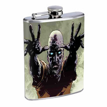 Flask 8oz Stainless Steel the 3rd Zombie Design-004 Drinking Whiskey Brandy - €10,41 EUR