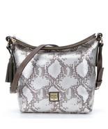 NWT Dooney & Bourke Kitney Python Leather Dixon Crossbody Shoulder Bag N... - $168.00