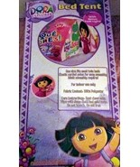 Dora the Explorer & Boots Bed Tent with Bonus Push Light What is Dora Pa... - $25.00