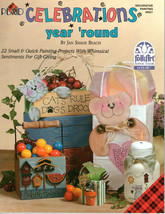 CELEBRATIONS Year Round Paint Book~Jan Beach - $5.90