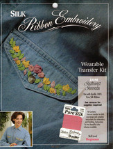 Southwest Beginner's Silk Ribbon Embroidery Transfer Pattern - $3.50