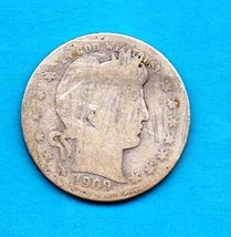 1909 D Liberty Barber Head Half Dollar 50c Silver Coin  - $26.00