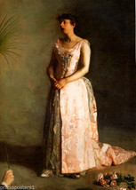 The Concert Singer Weda Cook Music 1892 Painting By Thomas Eakins Repro - $10.96+
