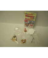NEW Re-ment 3:00 O'Clock Afternoon Tea 7 Miniature Mini Food 2004 US Seller - $15.00