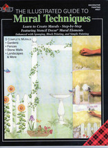 MURAL TECHNIQUES~Plaid New Illustrated Guide - $8.59