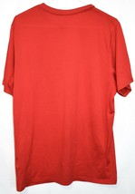 Nike Dri-Fit Men's Red Crew Neck Athletic Training Shirt Size L 384407-657 image 2