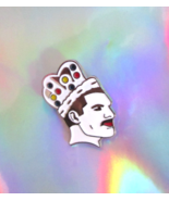 freddie mercury pin enamel jewelry queen band l... - $12.99